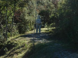 Xicu Cabanyes' Pregnant Woman and the Can Ginebreda Forest