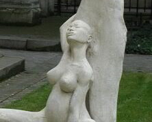 Beautiful Sculpture of an Unassisted Birth (Origin Unknown)