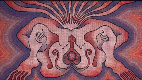 "Judy Chicago's ""The Crowning"""