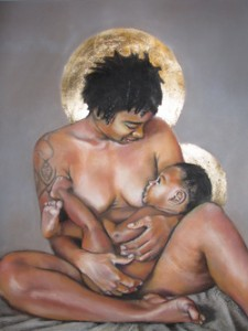 The Power of Birth and Motherhood in the Artwork of Kate Hansen