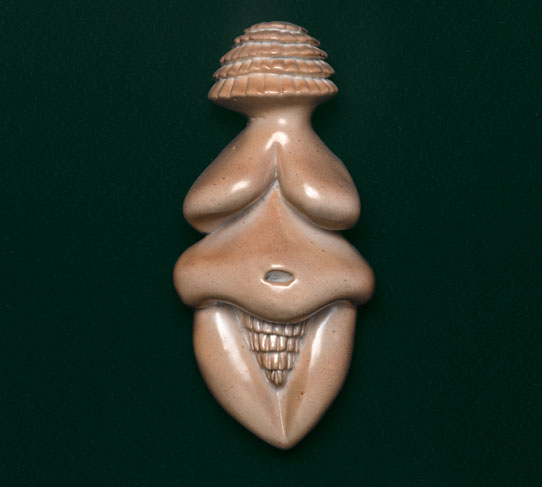 "Visualizing Fertility and Birth in Judy Chicago's ""Ceramic Goddess #3″"