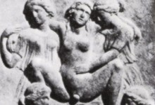 Classical Greek Image of Woman giving Birth