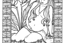The Work of Amber delaine: Visualizing Birth Through Color