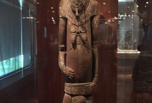 New Guinean Birth Figure at San Francisco's de Young Museum