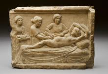 Classical Roman Birth Scene